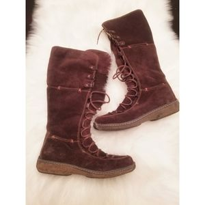 Timberland Mooreland Holace Brown Lace up boots